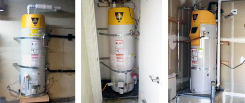Three Examples of High Efficiency Water Heaters Riverside