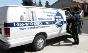 Water Heaters Only Company Van Sacramento