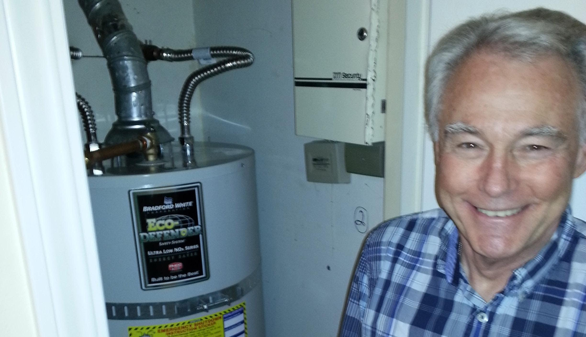 Another smiling customer of Water Heaters Only! Riverside