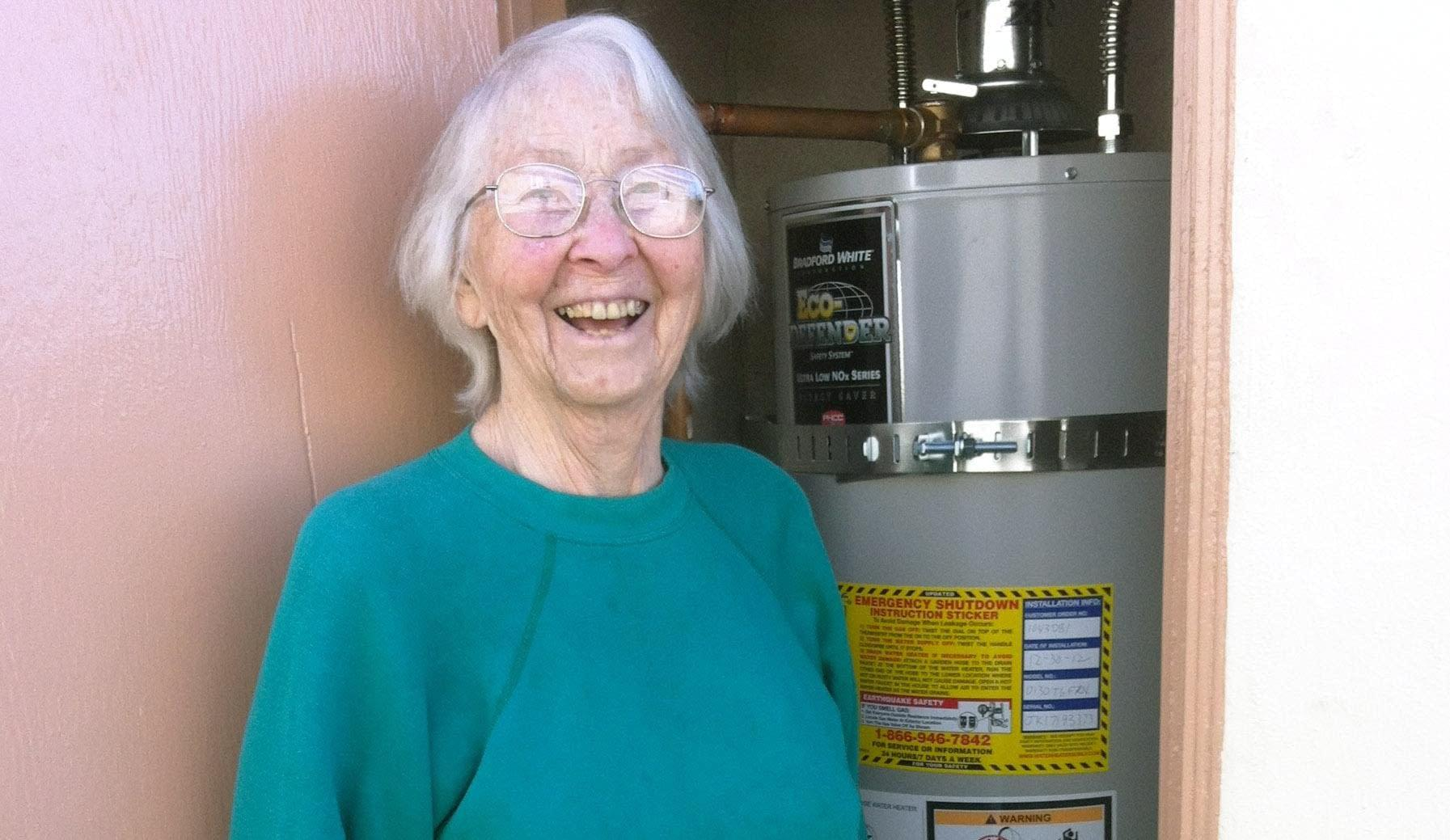 Smiling customer of Water Heater Only! Riverside